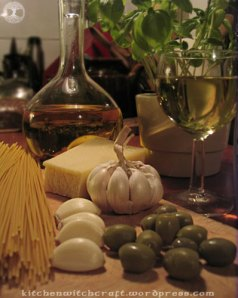 Aglio e olio ingredients